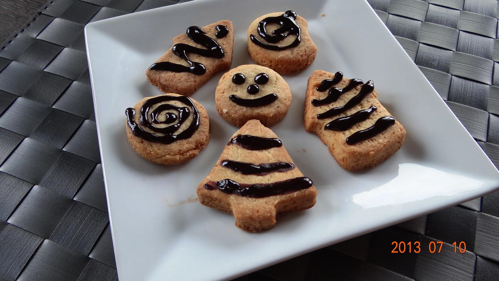 Ciasteczka maślane – orkiszowe