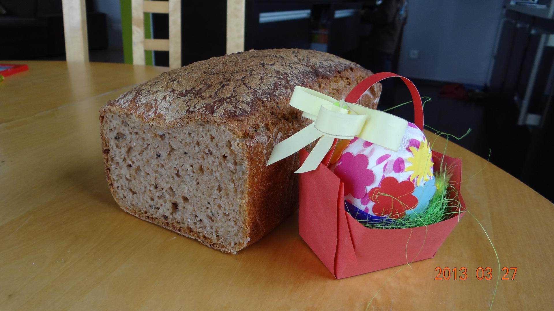 Chleb orkiszowy – przepis