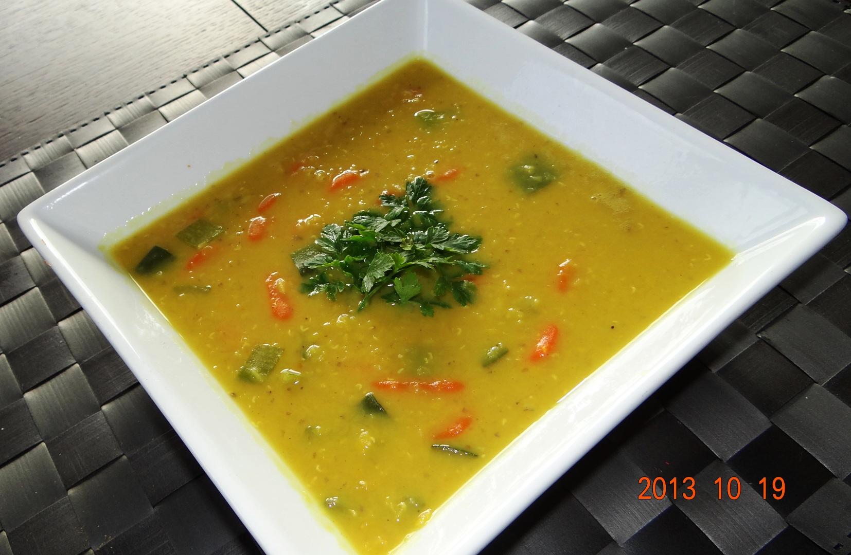 Soczewica – kokos curry